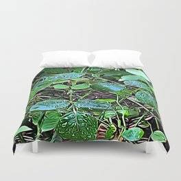 Living Leaves Duvet Cover