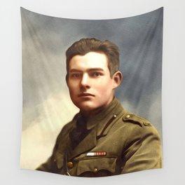 Ernest Hemingway, Writer Wall Tapestry