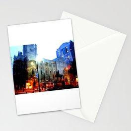 linear city Stationery Cards
