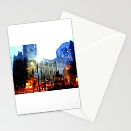 linear city Stationery Cards