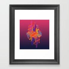 Secret Life of a Raindrop, Part Two Framed Art Print
