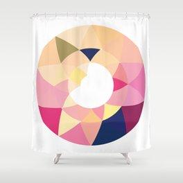 Datadoodle Donut Shower Curtain