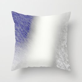 """Between Navy and White"" Throw Pillow"