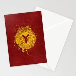 NYC Token (Red) Stationery Cards