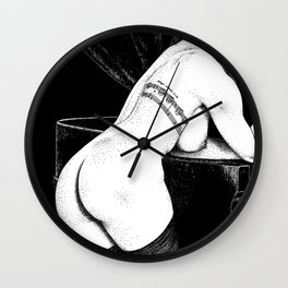 asc 656 - La chanson d'amour (Let me be your muse) Wall Clock