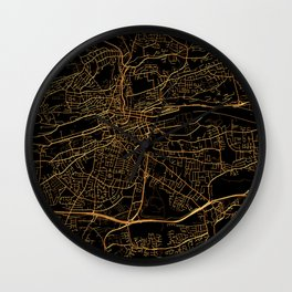 Cork map, Ireland Wall Clock