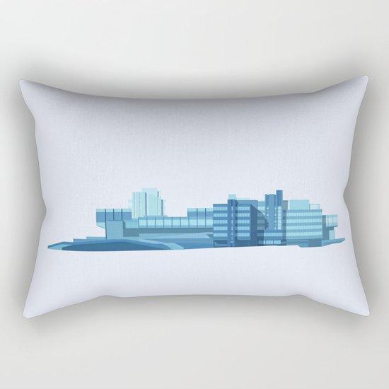 Brutalist Sphinx Rectangular Pillow
