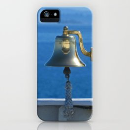 Ringing in the day iPhone Case