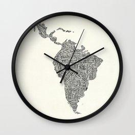 latinoamerica Wall Clock