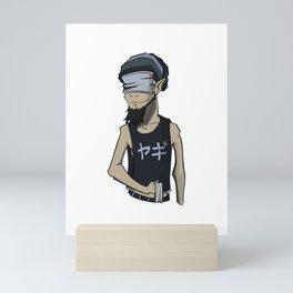 Goat v3 Mini Art Print