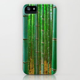 BAMBOO FOREST1 iPhone Case