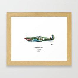 Curtiss 87A Kittyhawk Framed Art Print