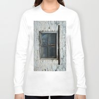 window Long Sleeve T-shirts featuring window by habish
