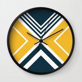 Nautical geometry 2 Wall Clock