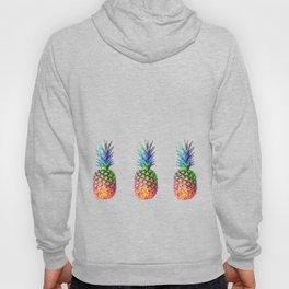 iridescent pineapple Hoody