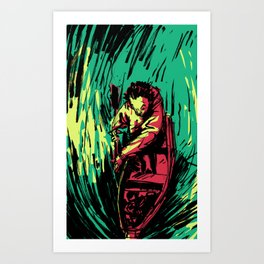 Boatbro Art Print
