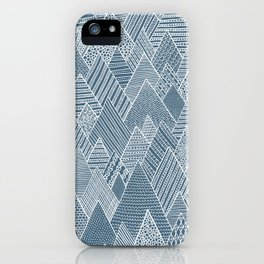 Mountain Pattern iPhone Case