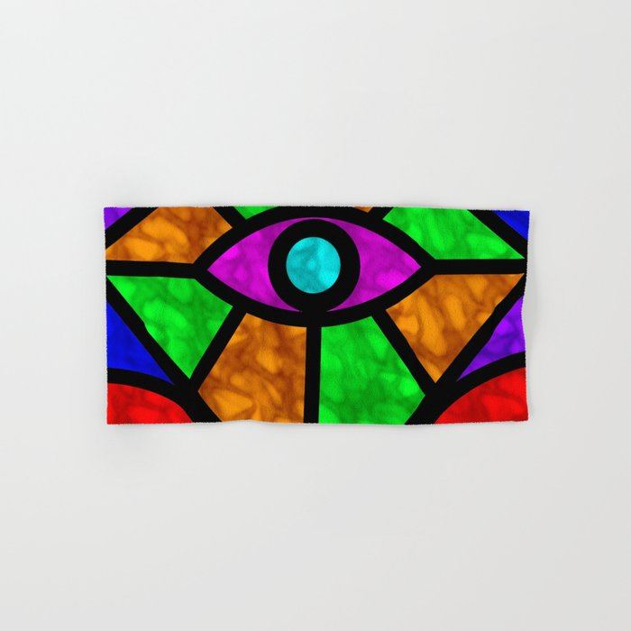 Illuminati Abstract Hand & Bath Towel