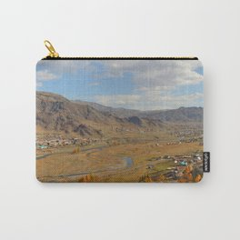 autumn Altai Mountains Carry-All Pouch