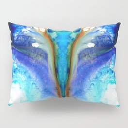 Metamorphosis - Abstract Art By Sharon Cummings Pillow Sham