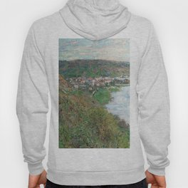 View of Vetheuil by Claude Monet, 1880 Hoody