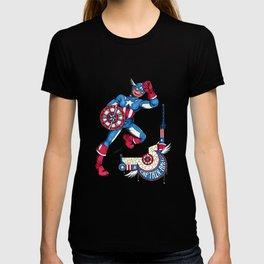 Captain A, the first Avenger T-shirt