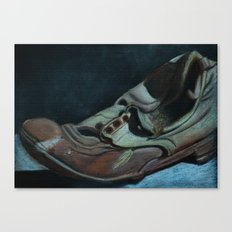 The Old Shoe Canvas Print