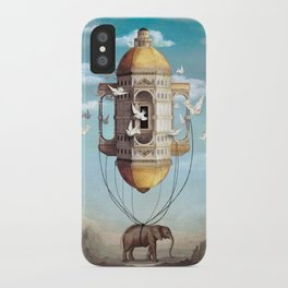 Imaginary Traveler iPhone Case