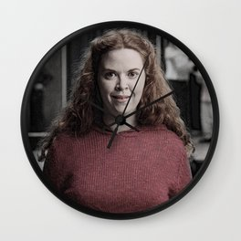 Regina George Punched Me in the Face - Mean Girls Wall Clock