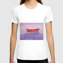 Red Dory Reflections T-shirt