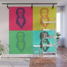 Ach du meine Goethe - Pop Art Wall Mural