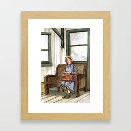 Anne Arrives Framed Art Print
