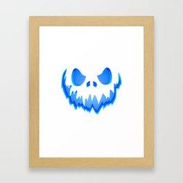 Evil Ghost Framed Art Print