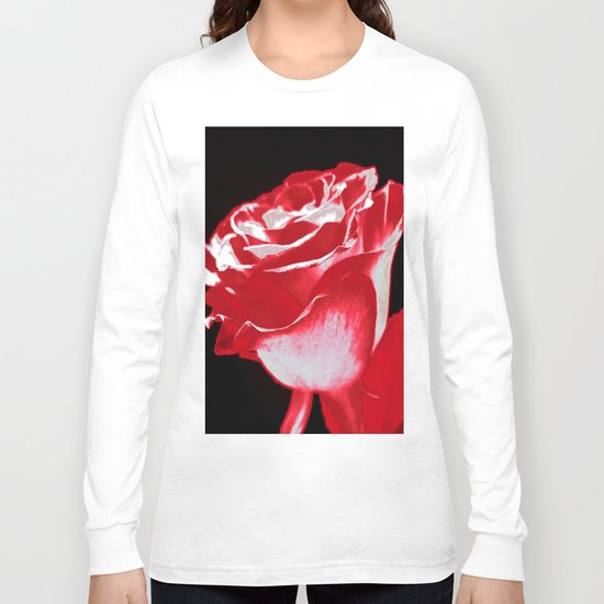 Colorful Rose P Long Sleeve T-shirt