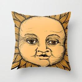 Psycic (color) Throw Pillow