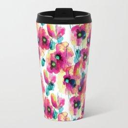 happy floral Travel Mug