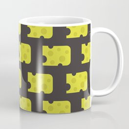 cheese pattern Coffee Mug