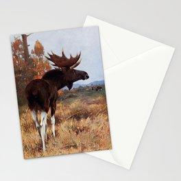 Kuhnert, Friedrich Wilhelm (1865-1926) - Wild Life of the World 1916 v.2 (Elk or Moose) Stationery Cards