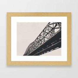 Bailey Bridge, Cincinnati OH Framed Art Print