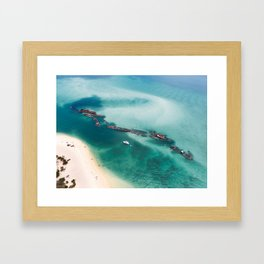 TANGALOOMA WRECKS Framed Art Print