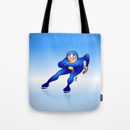 Speed Skater Tote Bag