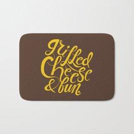 Grilled Cheese & Fun Bath Mat