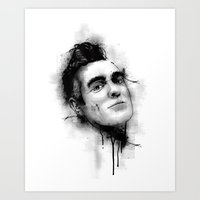 the smiths Art Prints featuring Smiths  by Mr Skillmatik