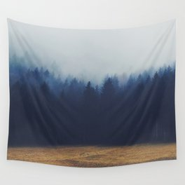 Misty Forest  2 Wall Tapestry