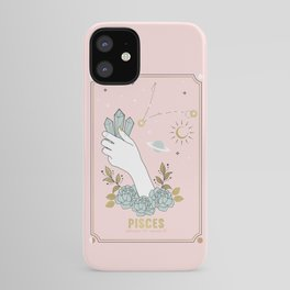 Pisces Zodiac sign iPhone Case