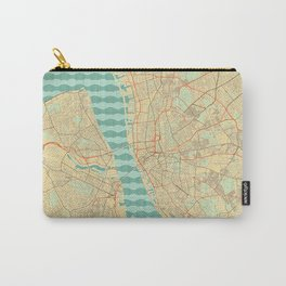 Liverpool Map Retro Carry-All Pouch