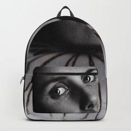 Jellyfish portrait Backpack