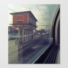 let's take the train Canvas Print