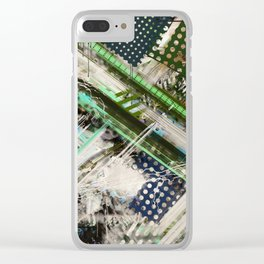 Tracking code 2 Clear iPhone Case
