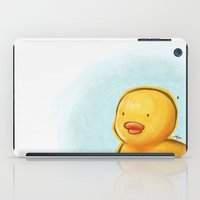duck iPad Cases featuring duck by wonderday